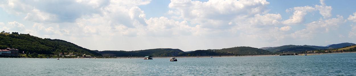 Panorama Zlatarskog jezera