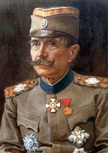 Petar Bojović 1914. godine, u uniformi generala Kraljevine Srbije