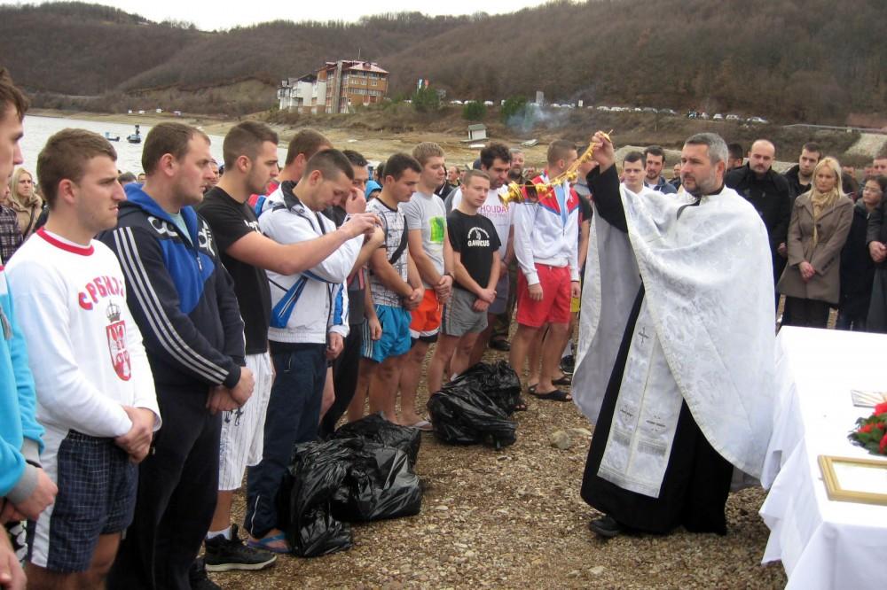 Пливање за Богојављенски крст