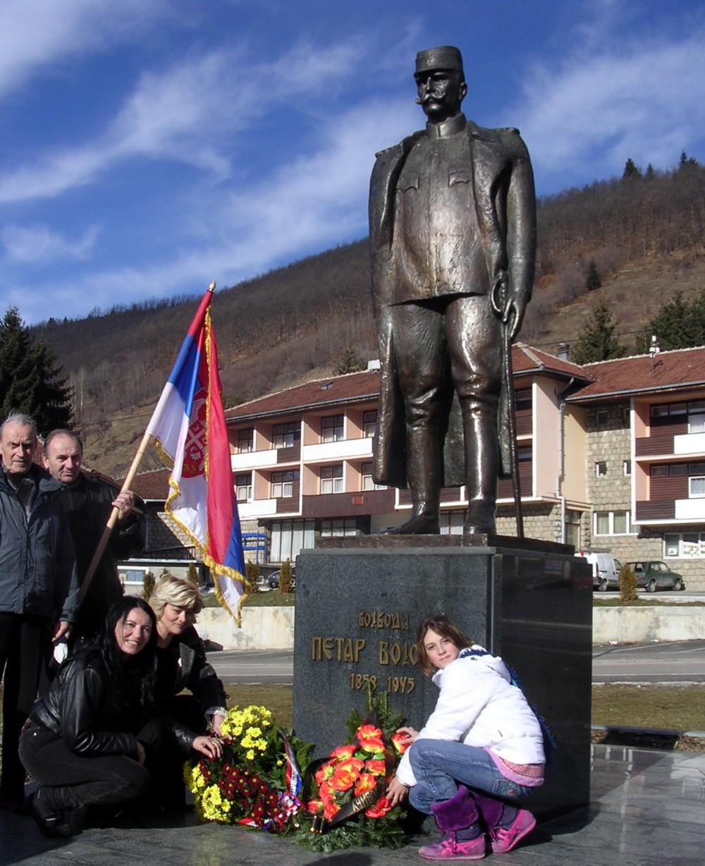 Vreme zaborava dugo je prekrivalo zasluge Bojovića - spomenik u Novoj Varoši