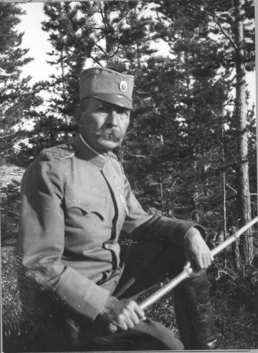 Komandant Prve armije, Petar Bojović 1918. godine