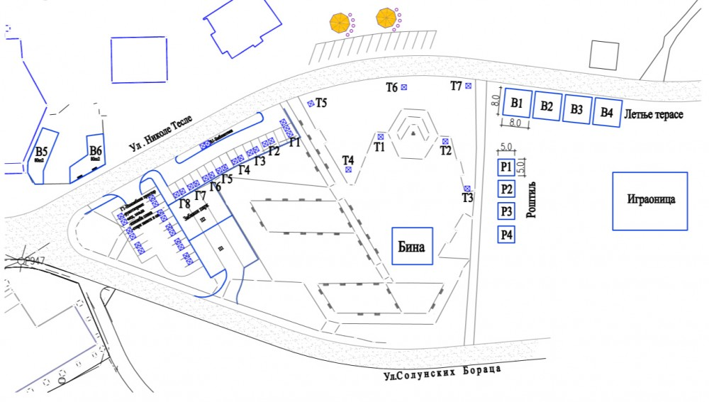 Plan zemljista za zakup (kliknite za veću sliku)