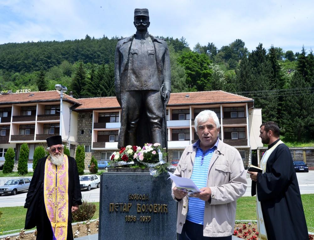 Dragoljub Gagričić - predsednik Odbora novovaroškog Udruženja potomaka ratnika