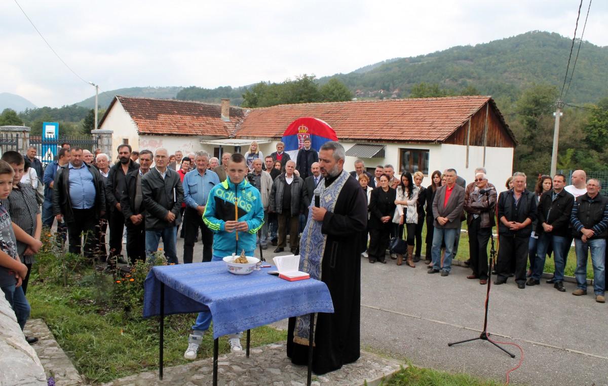 Beleg Soluncima osveštao je prota Branislav Stojanović