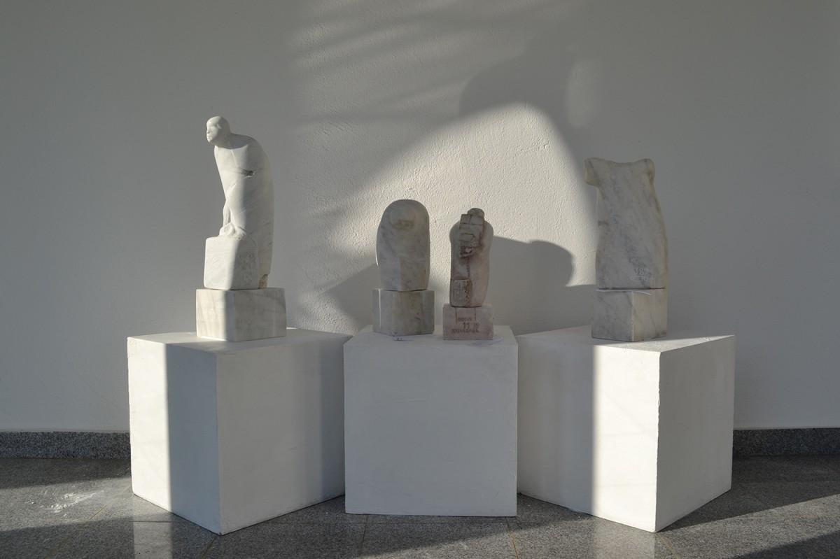 Skulpture ispred milesevske riznice