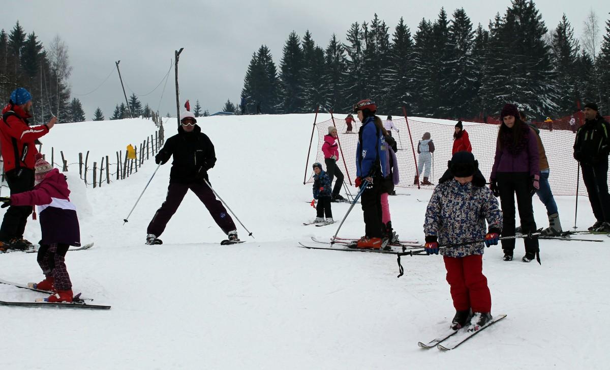 """Први кораци на снегу – Скијалиште """"Златар"""""""