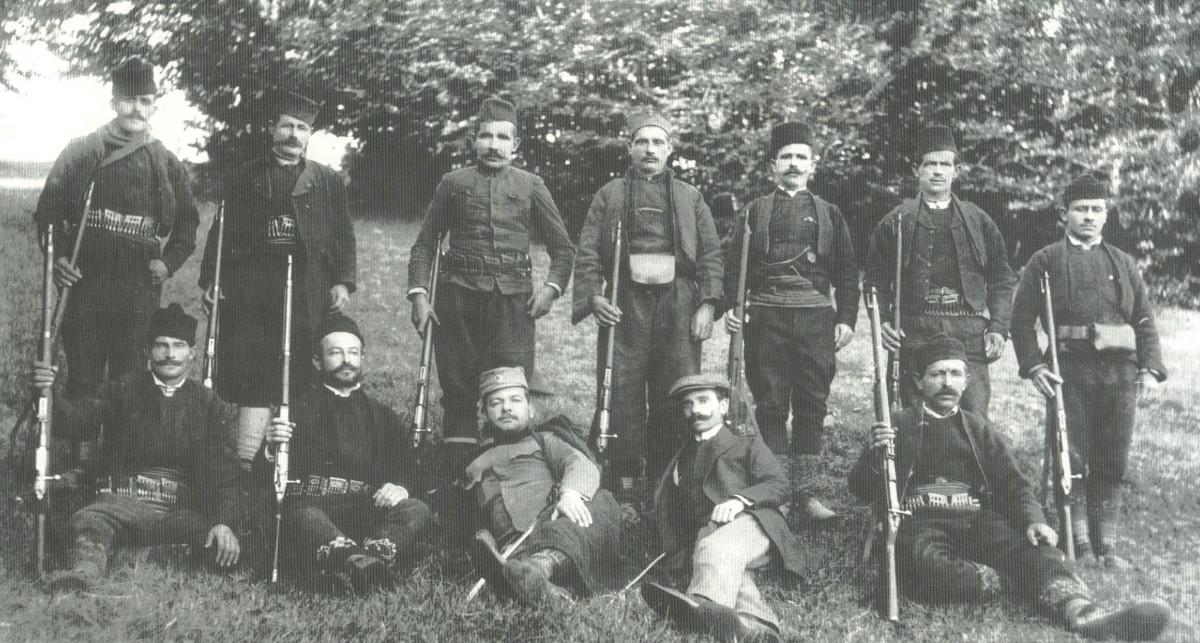 Комите на Јавору, 1912. године, уочи ослобођења Старог Влаха