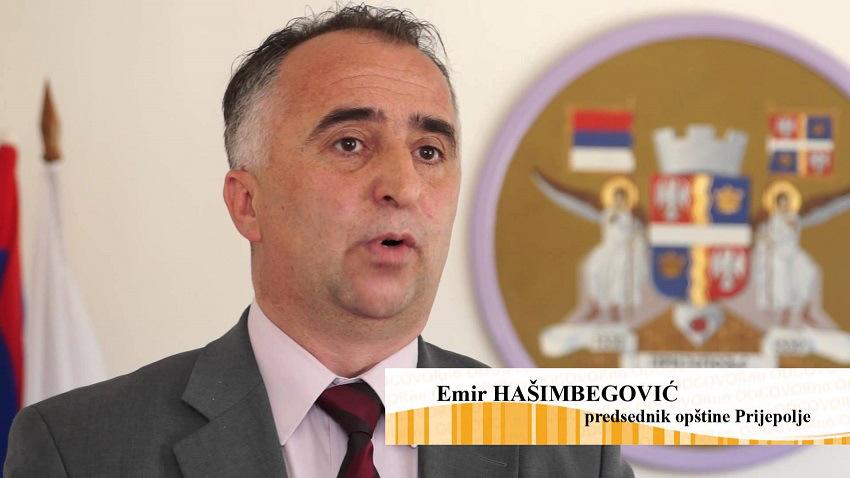 Predsednik opštine Prijepolje - Emir Hašimbegović