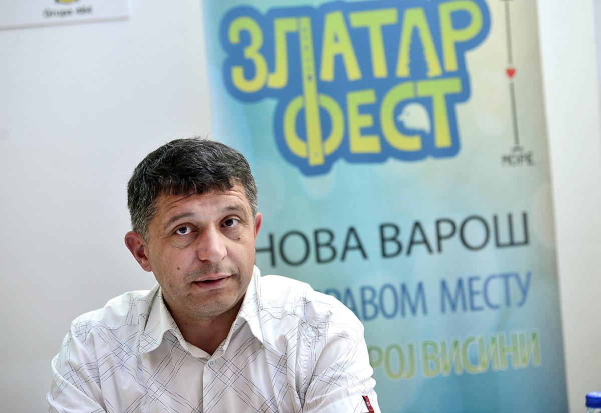 Димитрије Пауновић, председник Општине (Фото: Раде Прелић)