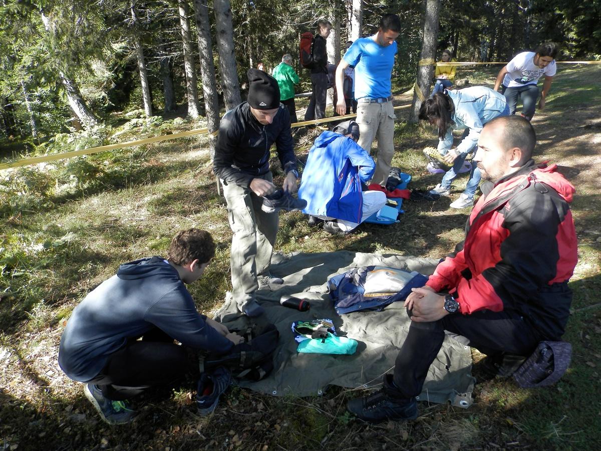 Poslednje pripreme pred odlazak u planini (foto: Ž. Dulanović)