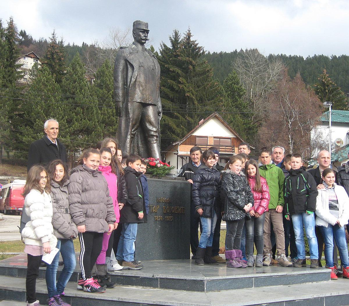 Војвода чека белег ратницима са Дрине, Цера, Колубаре, Кајмакчалана...