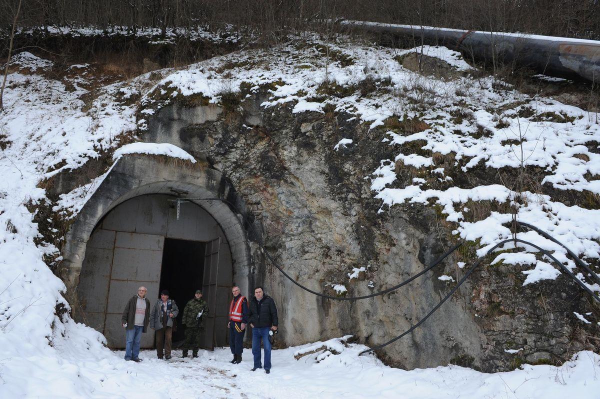 Тунел и цевовод мини хиидроелектране