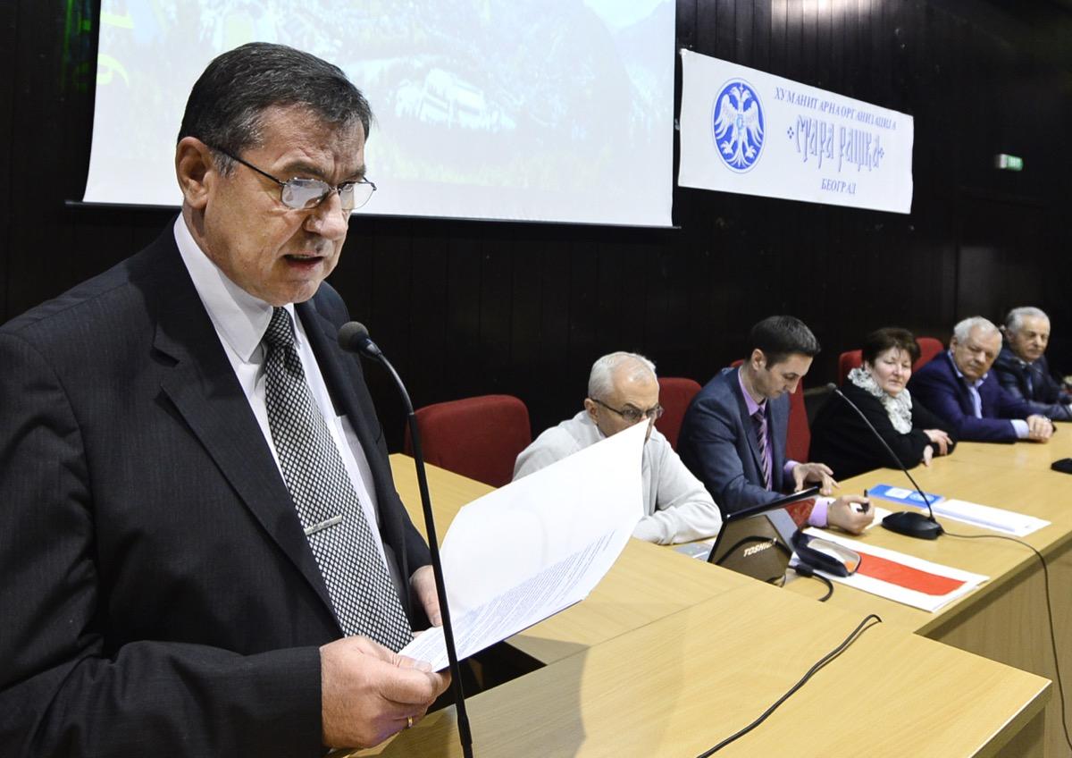 Tomo Sekulić predsednik U.O. podnosi izveštaj