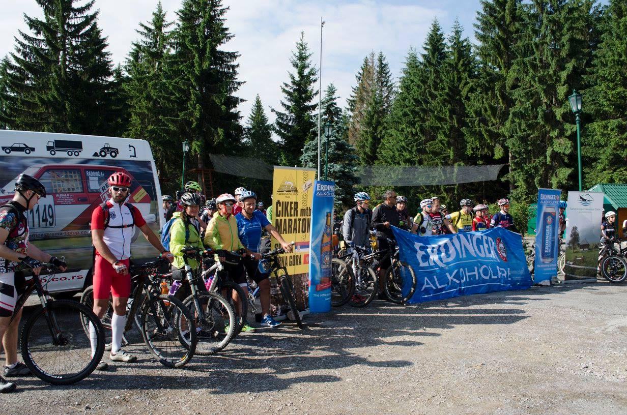 """Rekreativno-biciklisticki maraton """"Čiker MTB 2016"""""""