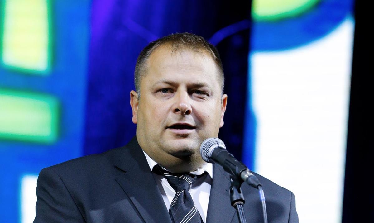 Бранко Бјелић, председник општине Нова Варош на отварању Златарфест-а (фото: Фото Мирко)
