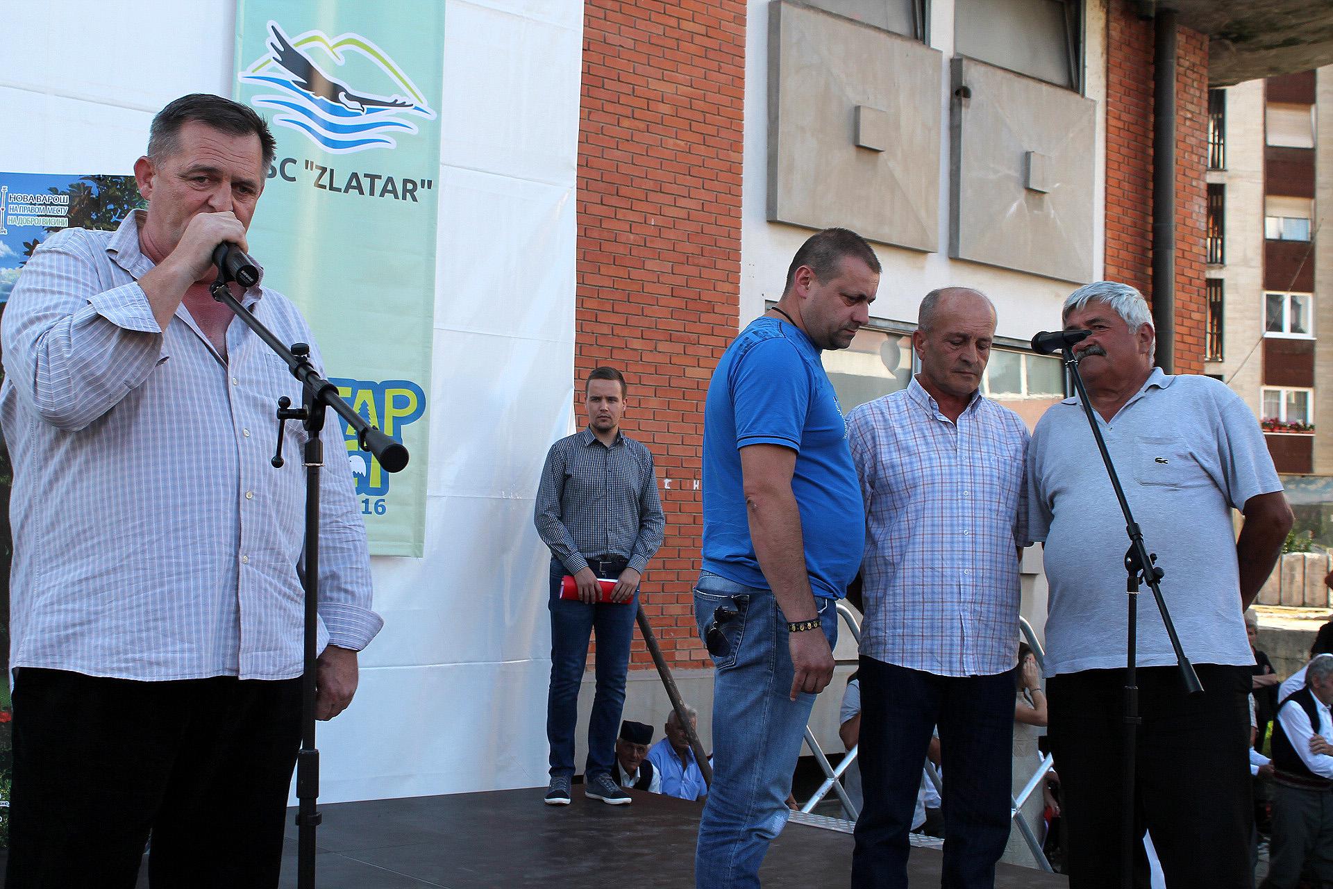 Певачка група Чардак из Беле Реке Шести сабор певања извика - ЗлатарФест 2016