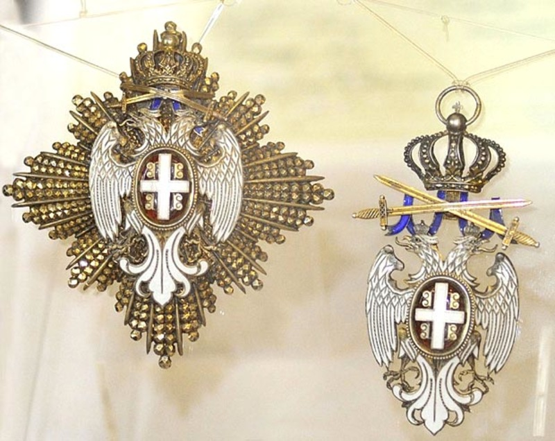 Орден белог орла са мачевима