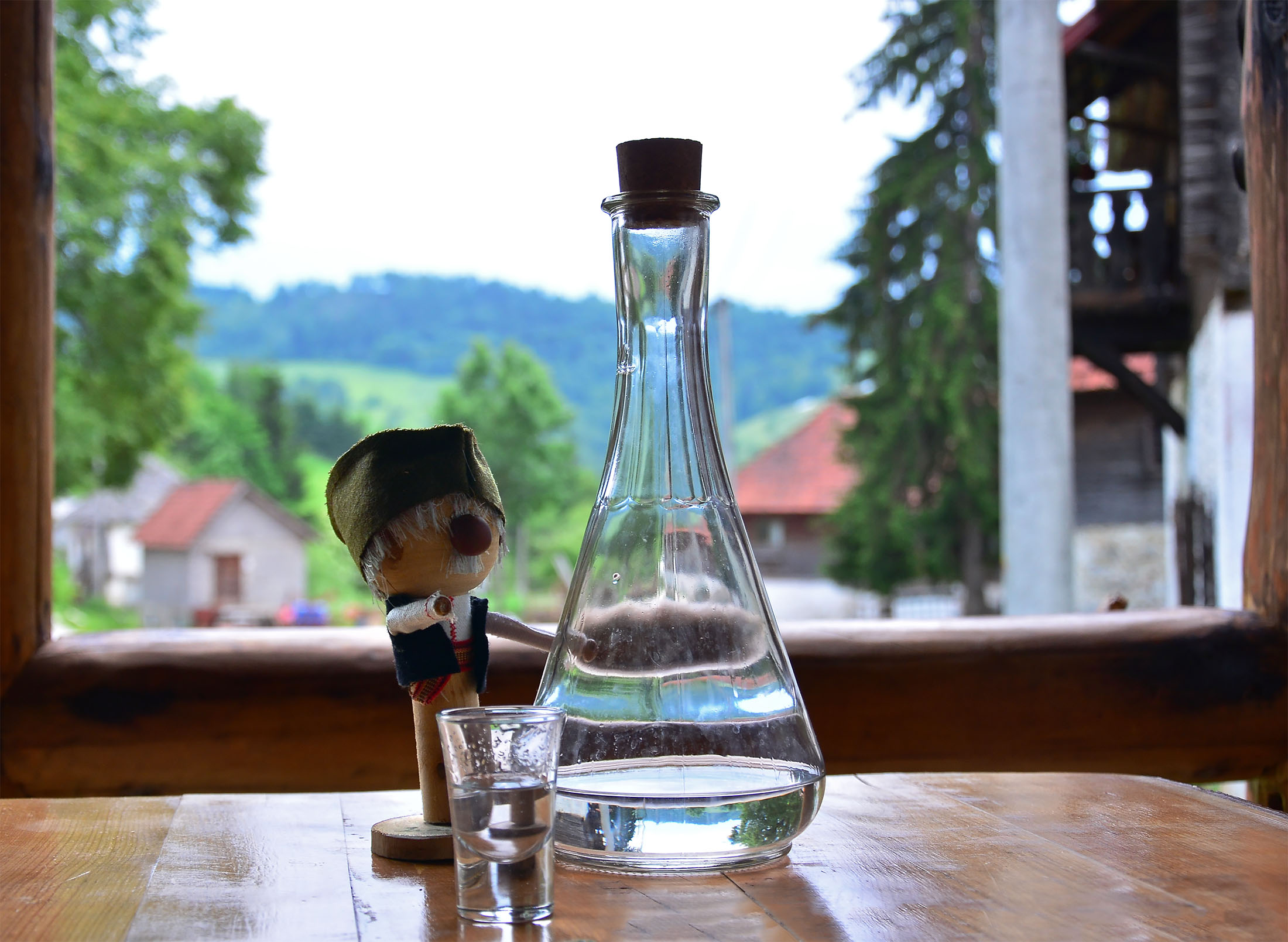 Domaća rakija - Etno selo Štitkovo