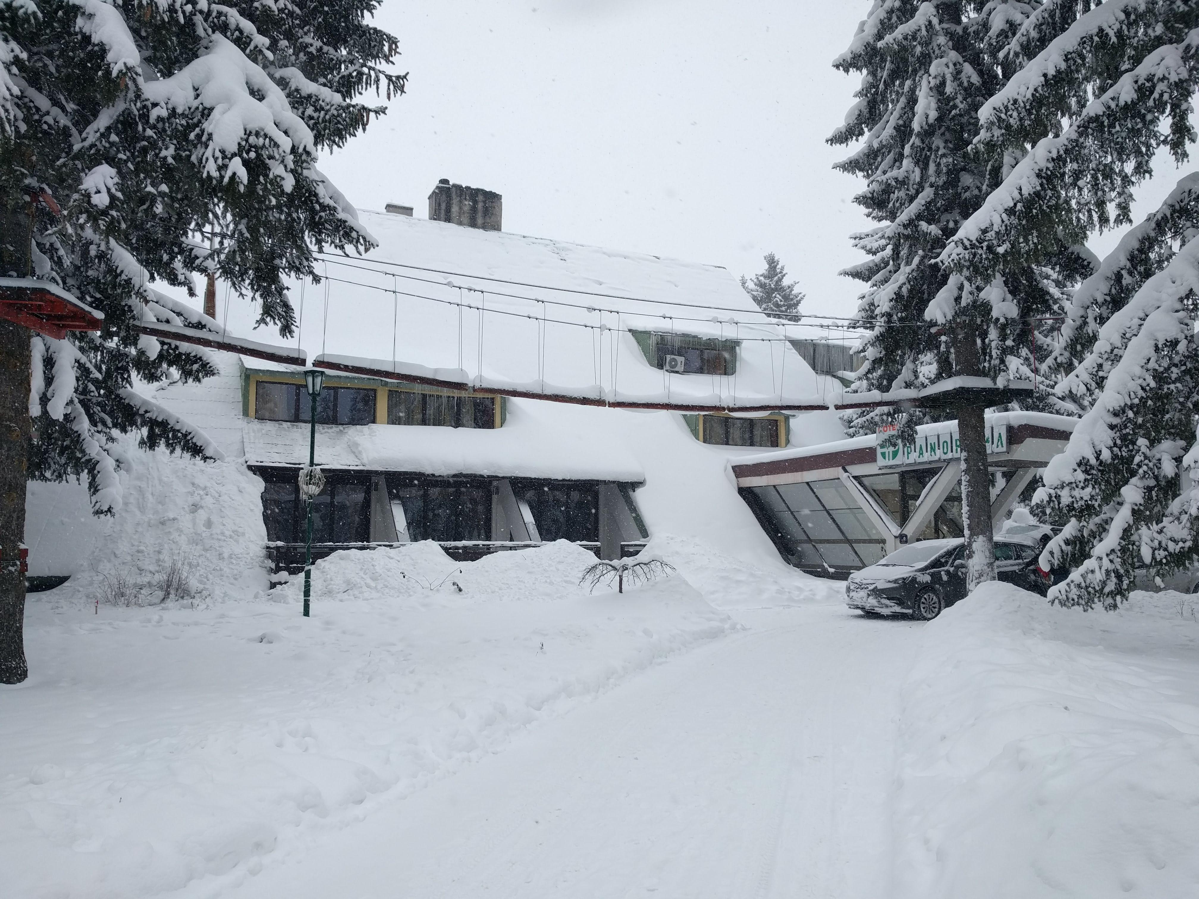 Златар под снегом (јануар 2019)