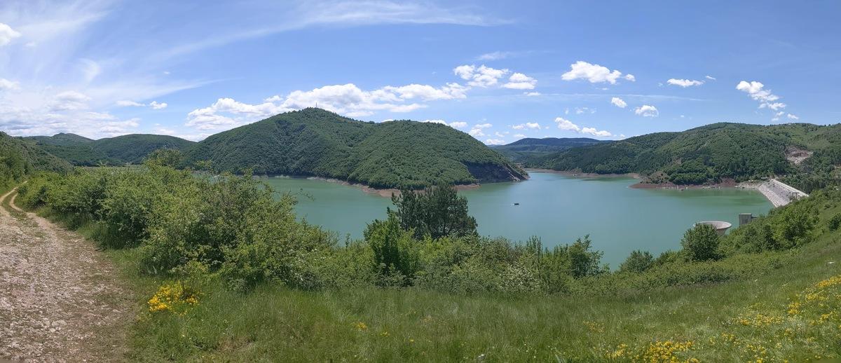Увачко језеро Панорама