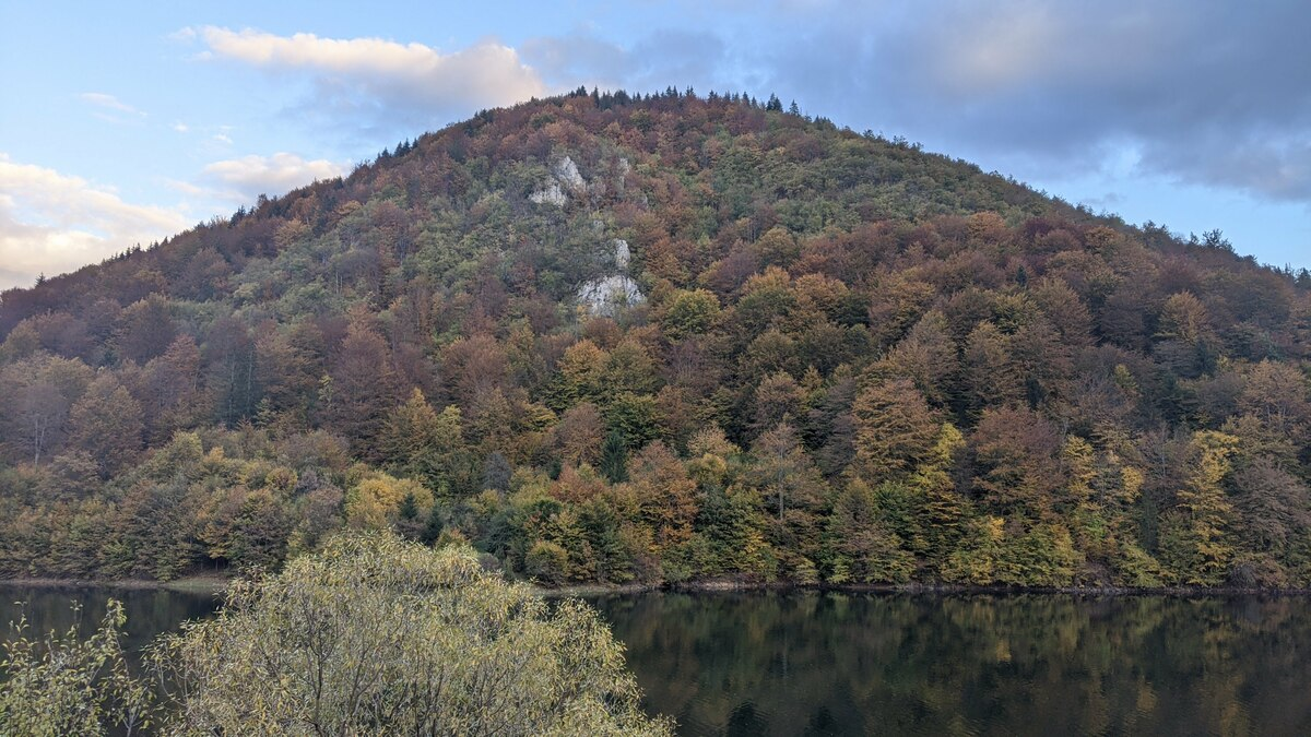 Zlatarsko jezero Jesen na Zlataru